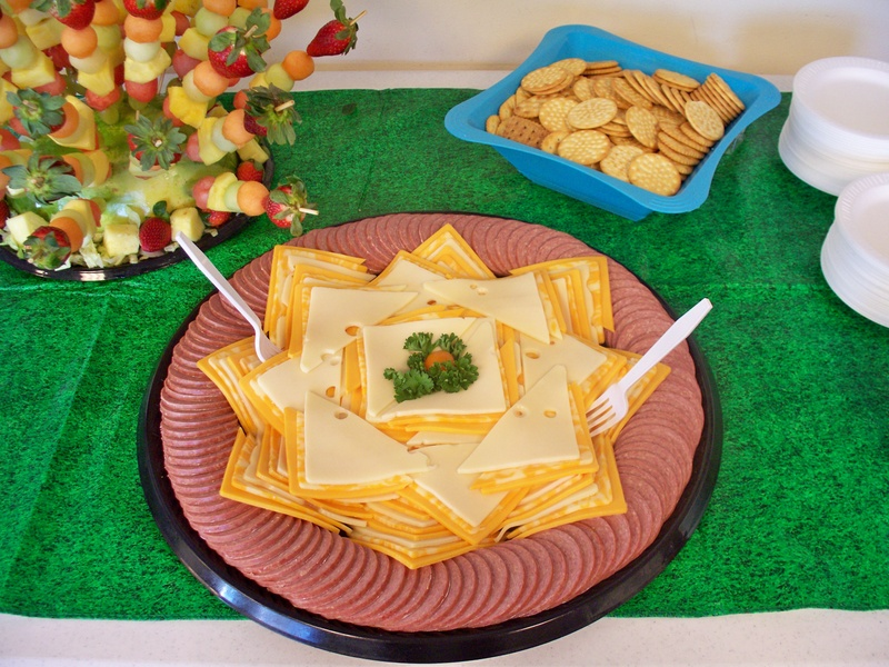 Cheese & Sausage Tray