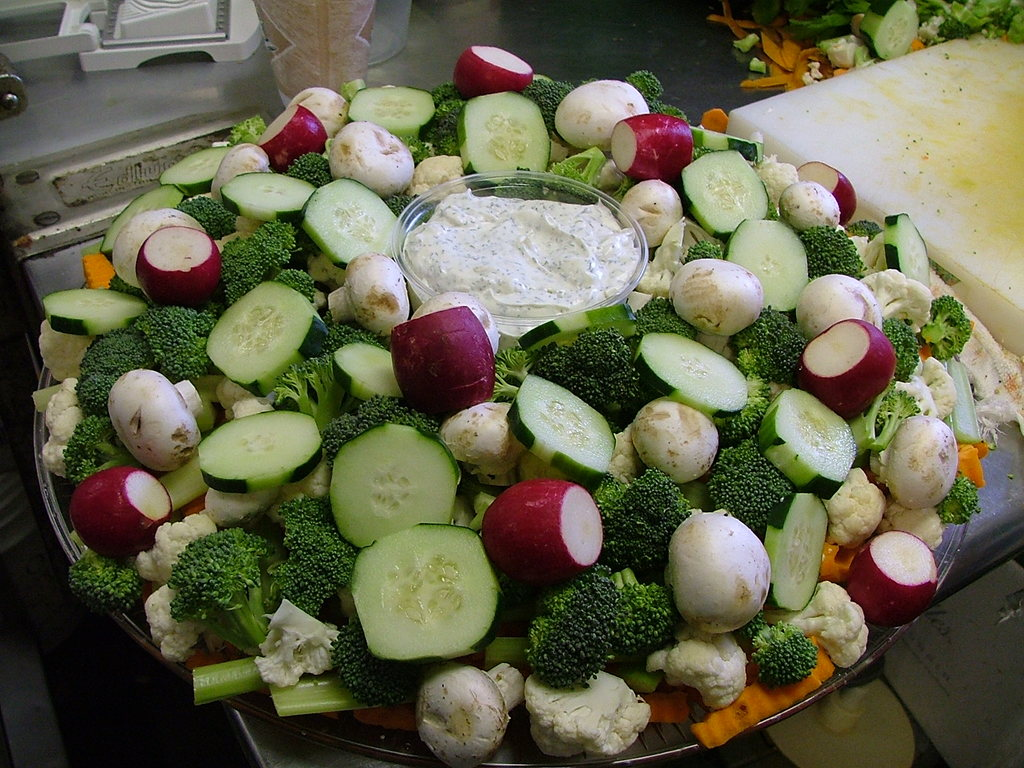 Vegetable Platter & Dip